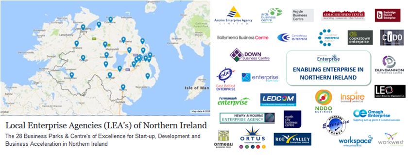 Enterprise NI 28 Local Enterprise Agencies