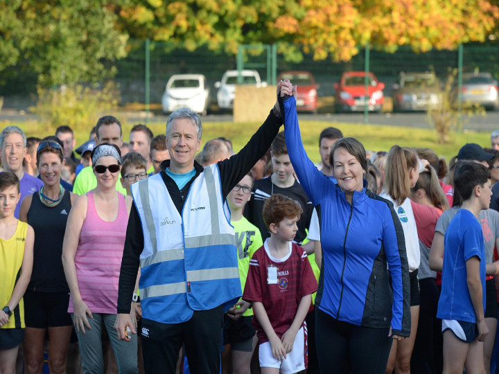 Nick's Blog: A Big Thank You To Omagh Parkrun Volunteers