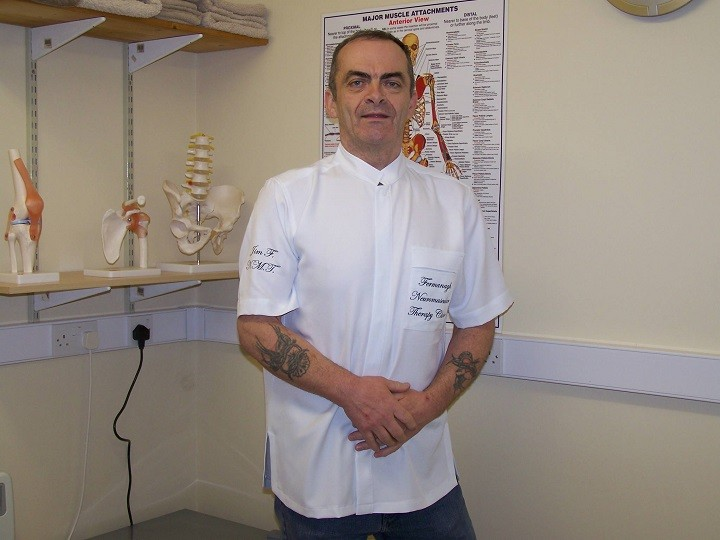 60 seconds with | Jim Fawcett - Fermanagh Neuromusculartherapyclinic