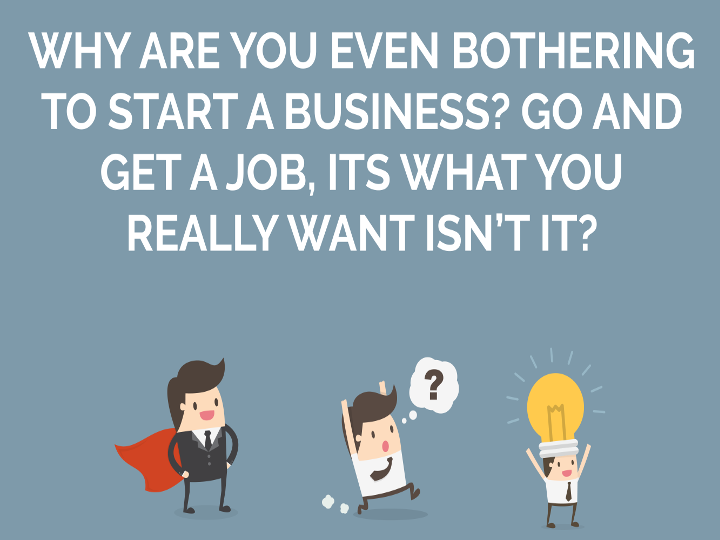 Nick's Blog: Do you want to start a business?
