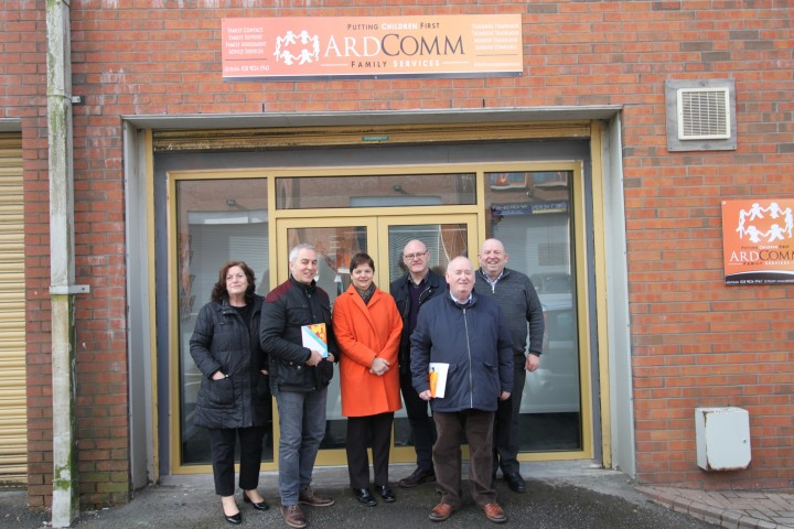 Ardmonagh Family and Community Group open new facility at Twin Spires Complex