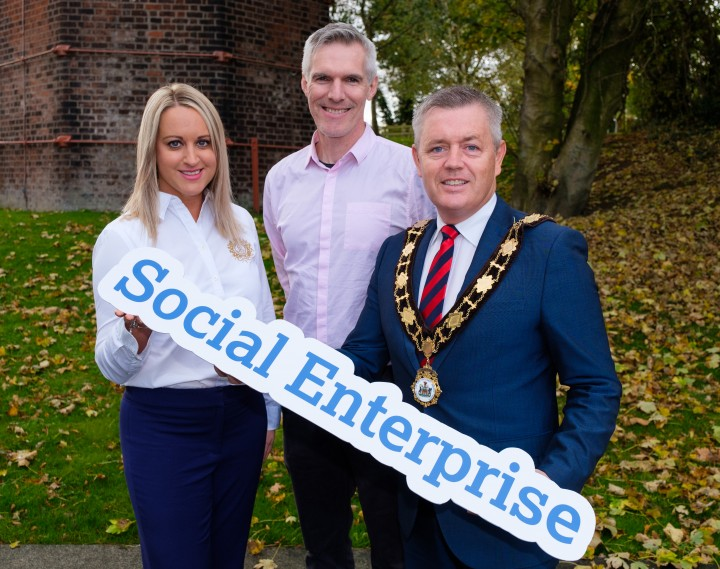 Mayor launches new Antrim and Newtownabbey Social Enterprise Programme