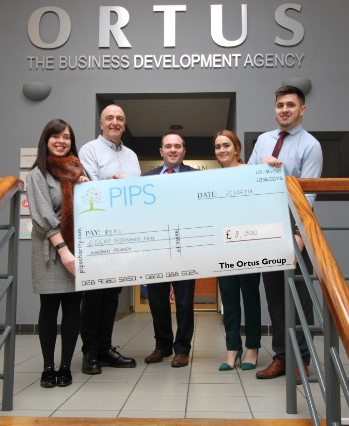 Fundraising for Awareness – The Ortus Group and PIPS Charity