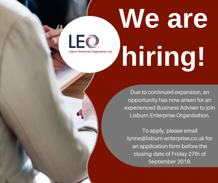 Job Opportunity with Lisburn Enterprise Organisation
